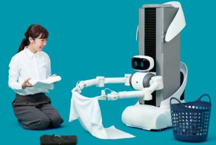 El robot mayordomo Ugo de Mira Robotics te cuelga la ropa y te hace la lavadora