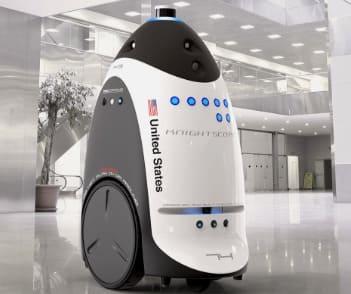 robot de vigilancia K3 de KnightScope
