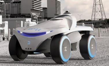 robot policía K7 de KnightScope pra luchar contra la delincuencia