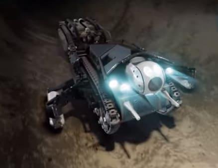 Robot de Purerobotics para inspeccionar alcantarillas y tuberías
