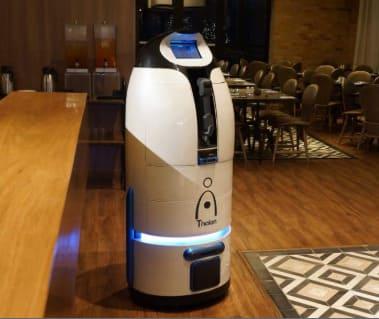 robot mayordomo Thalon creado por