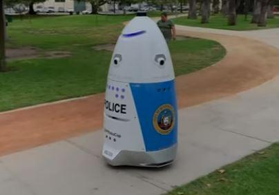 HP Robocop, el automata K5 es el nuevo policía de california