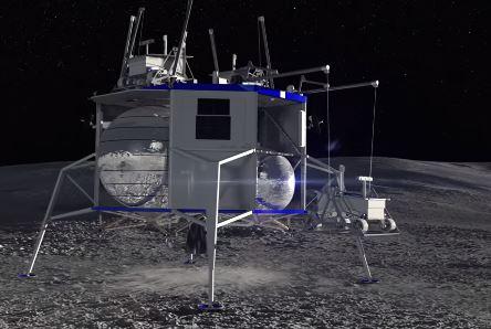 La Luna verá como Amazon envía robots y astronautas en 2024