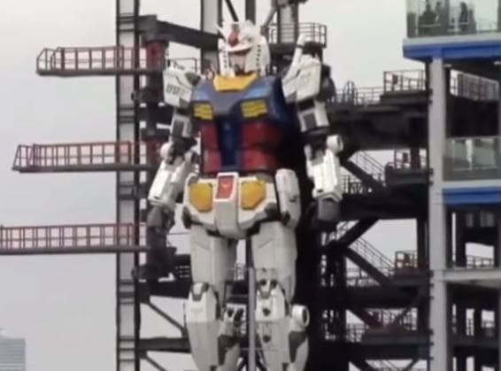 El nuevo robot Gundam es la delicia de los fans del manga 1 El nuevo robot Gundam es la delicia de los fans del manga
