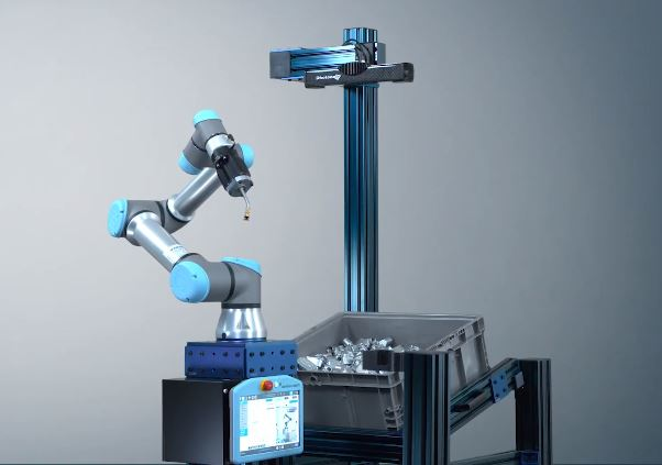 ActiNav de Universal Robots para Bin Picking
