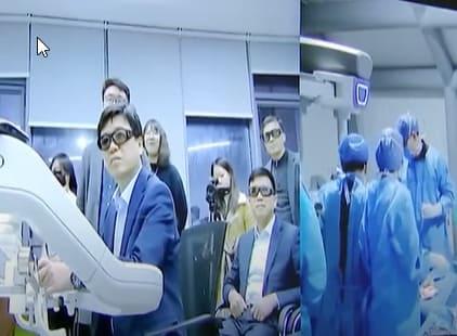 Intervención de cirugía a 136 km de separación en un hospital de la capital de China