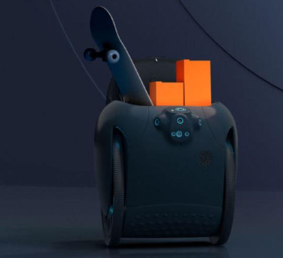 Su nombre es Gita y te lleva el portatil y la maleta