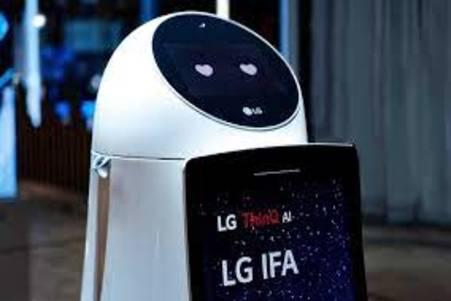 LG se une en la carrera de desarrollar robots camareros